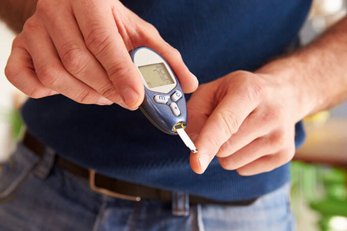 A blood sugar level between 72 mg/dL (4 mmol/L) and 108 mg/dL (6 mmol/L) is considered normal for a healthy adult.  Source: http://healthiack.com/health/what-is-normal-blood-sugar-level