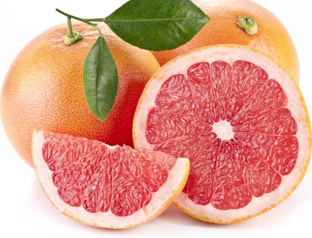 Grapefruit is an excellent metabolism booster