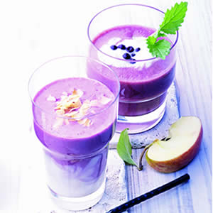 mixed smoothie