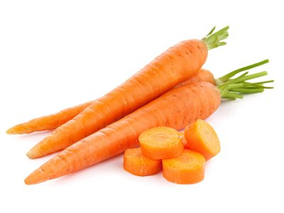 Delicious and healthy carrot