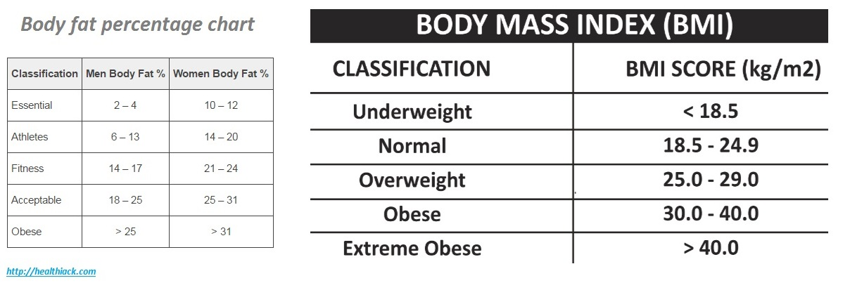 Measure Body Fat Index 70