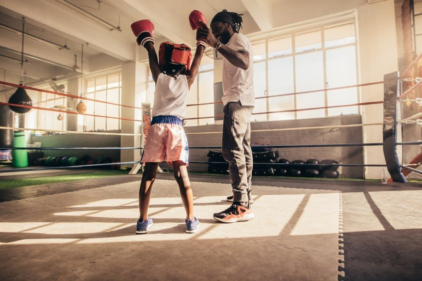 child-boxing-ring