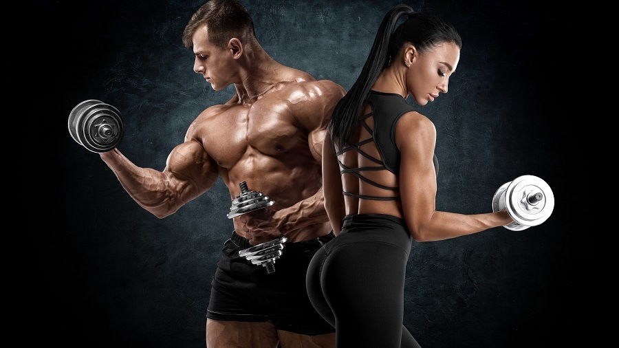 man-woman-muscle-gym