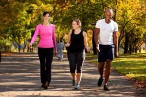 What is the effect of exercise on blood sugar levels?